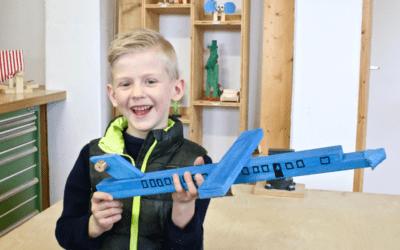Holzflugzeug bauen
