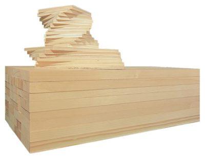 Bastelholz für Kindergarten