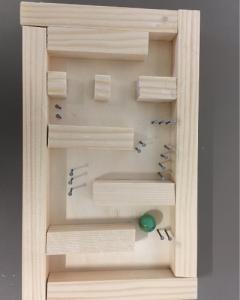 Murmelbahn aus Holz bauen