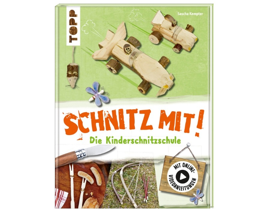 Schnitz mit Kinderschnitzschule