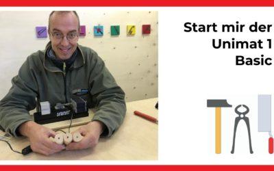 Unimat Basic 1 wie starte ich (Videoreihe)